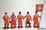Набор оловянных солдатиков - Николай 1 с Собственным конвоем