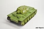 Русские танки №4 КВ-1 (только модель)