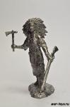Женщина- воин племени ассинибойнов