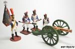 Французский артиллерийский расчет 1812 г