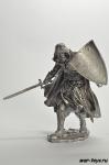 Средневековый рыцарь 75 мм