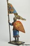 Русский дружинник со стягом, 13 век