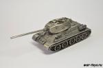 Модель танка Т34-85