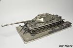 Модель танка ИС-7 с подставкой