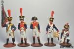 Набор оловянных солдатиков - Наполеон 1812