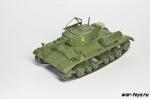 """Русские танки №110 с моделью """"Валентайн"""" МКIII (только модель)"""