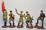 Набор оловянных солдатиков - Красная Армия