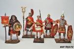 Набор оловянных солдатиков - Рим