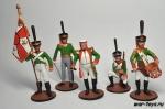 Набор оловянных солдатиков - Кутузов