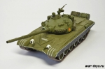 Русские танки Т-72А тестовый