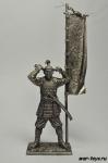 Асигару с флагом, 1600 год