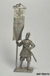 Японский воин-знаменосец, 14 век