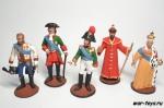 Набор оловянных солдатиков - Правители