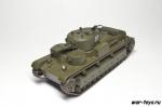 Русские танки, журнал №15  Т-28 (только модель)
