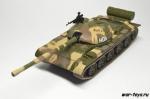 Русские танки №7 Т-62 (только модель)