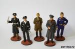 Набор оловянных солдатиков - Немецкие офицеры