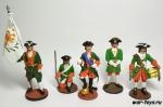 Набор оловянных солдатиков - Петр 1