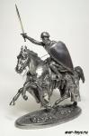 Конный рыцарь 90 мм