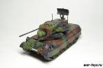 Боевые машины мира №20 ЗСУ Гепард (только модель)