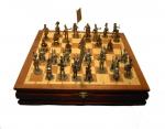 Шахматы Бородино 1812 год (чернение / олово под бронзу)