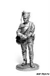 Канонир (2 номер) армейской пешей артиллерии. Россия, 1809-14 гг