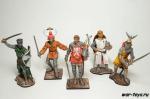Набор оловянных солдатиков Рыцари