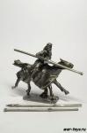 Турнирный рыцарь с дополнительными копьями 40 мм
