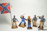 Набор оловянных солдатиков США Гражданская война