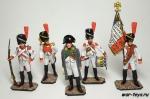 """Набор оловянных солдатиков """"Наполеоновские войны.Наполеон"""