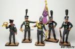"""Набор оловянных солдатиков. Прусская армия 1805 год"""""""