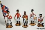 Набор оловянных солдатиков - Англичане 1812 год