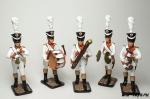 Набор оловянных солдатиков. Музыканты 1812