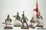 Набор оловянных солдатиков Павловцы