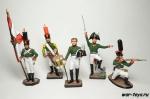 Набор оловянных солдатиков - Гренадеры