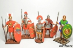 Набор оловянных солдатиков Древний рим