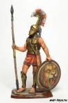 Спартанский гоплит, 480 год до н.э.
