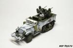 Русские танки №94 M17 MGMC (только модель)