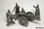 Набор оловянных солдатиков. Стрельцы