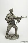 Краснф-тец мрск. пехоты Чрн. флота с пулемётом ДП. 1943-45 гг.