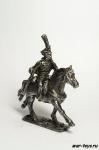 Гусар конный офицер Россия. 40 мм