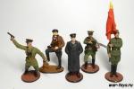 Набор оловянных солдатиков - Советская армия