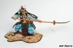 Самурай с алебардой на отмашь XII - XIV