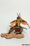 Самурай с мечом и кинжалом XII - XIV