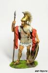 Греция Гоплит в ожидании атаки - 5 в до н.э.