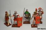 Набор оловянных солдатиков - Древний Рим