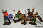 Набор оловянных солдатиков - Викинги