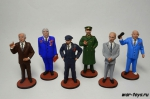 Набор оловянных солдатиков - Политики