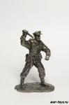 Вторая мировая. Cоветский солдат с ножом
