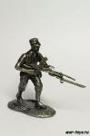 Японский пехотинец с ручным пулеметом. Вторая мировая война