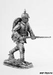Первая мировая война. Немецкий солдат в атаке